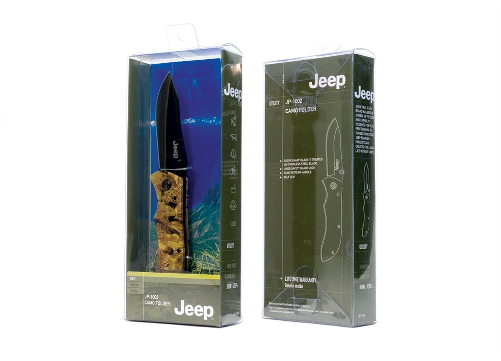 Jeep product packaging reflecting branding refresh