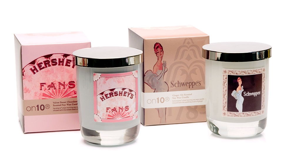Hershey's & Schweppes luxury candles