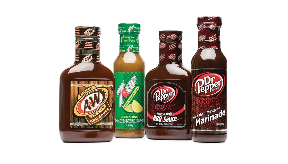 A&W, 7UP and Dr Pepper BBQ sauces and marinades inspired by fans who use the products to create their own recipes