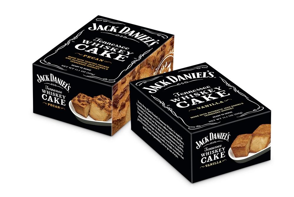 Jack Daniel's whiskey cake