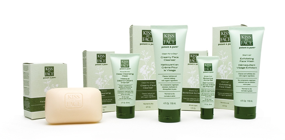 Kiss My Face Potent and Pure Facial Care Line