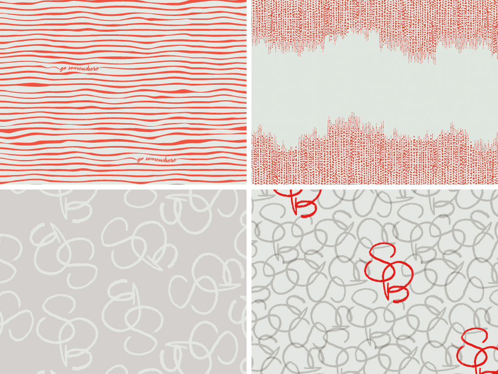 Samantha Brown signature patterns