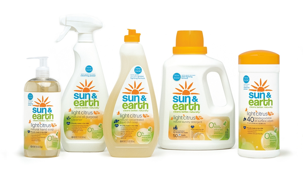 Sun & Earth: Full Line Packaging