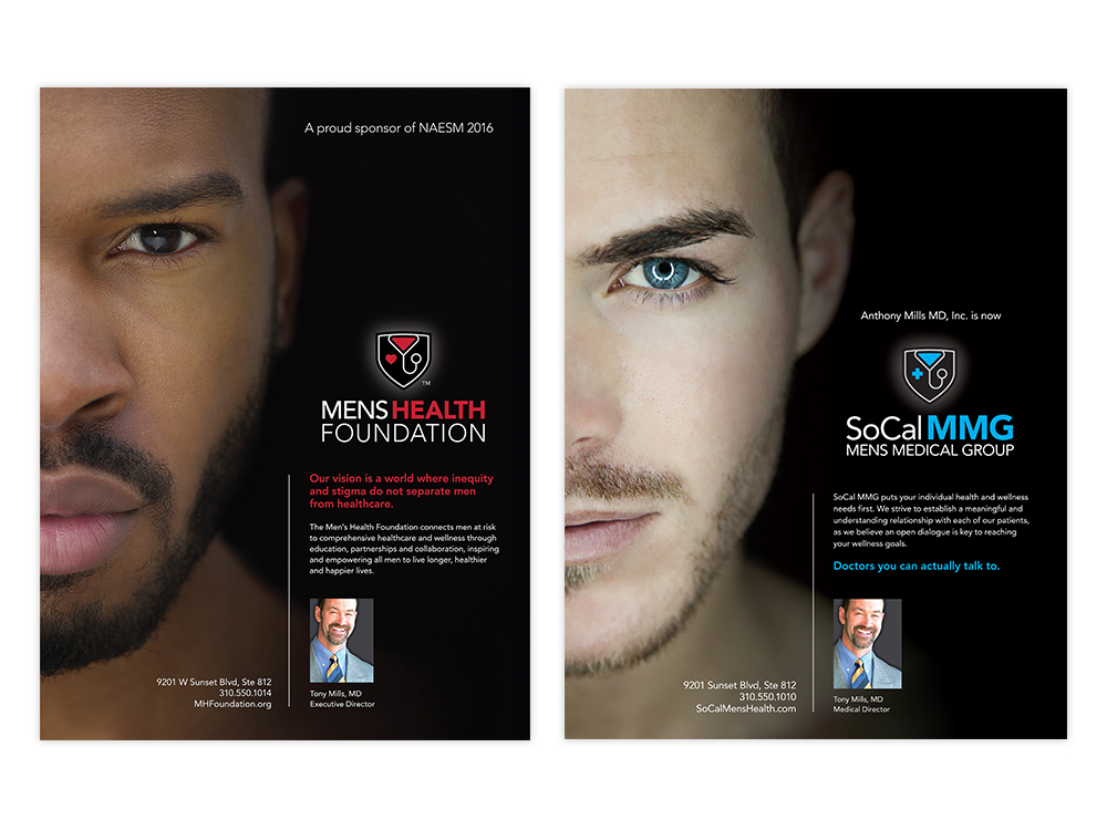 Men's Health Foundation : Advertising campaign drives brand awareness