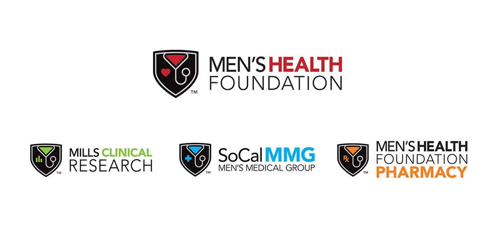 Identity for Men's Health Foundation, Mills Clinical Research, SoCal Men's Medical Group, and MHF Pharmacy