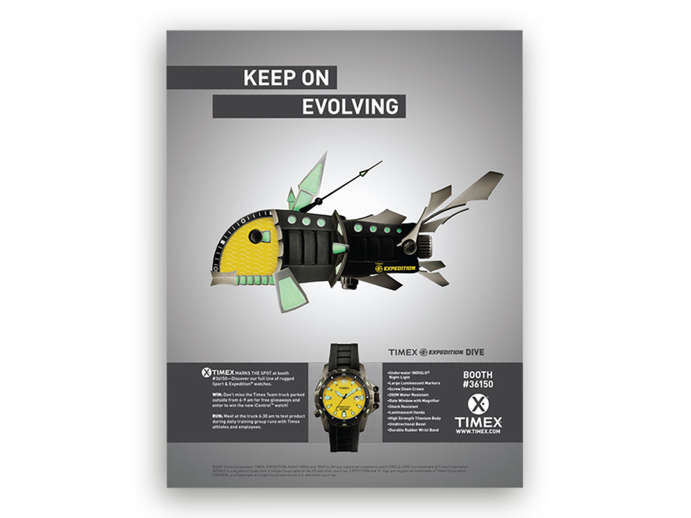 Timex - Keep On Evolving Ad