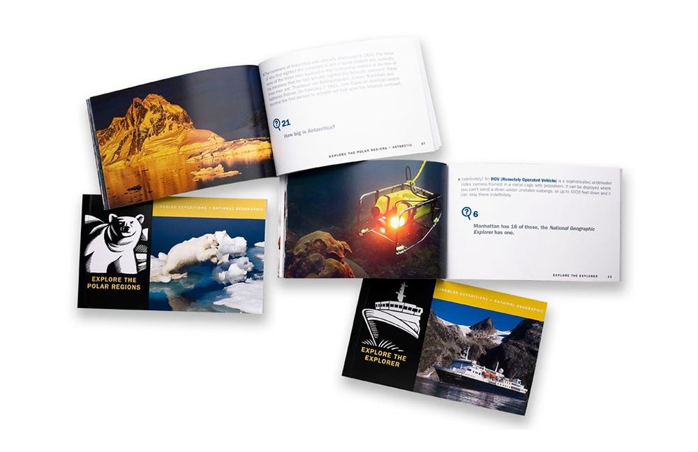 Lindblad Expeditions: National Geographic exploration books