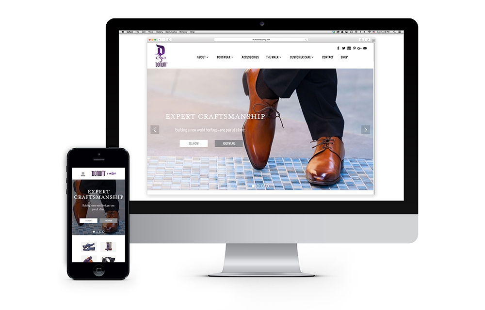 DONUM responsive web design and development creates a strong communication platform online