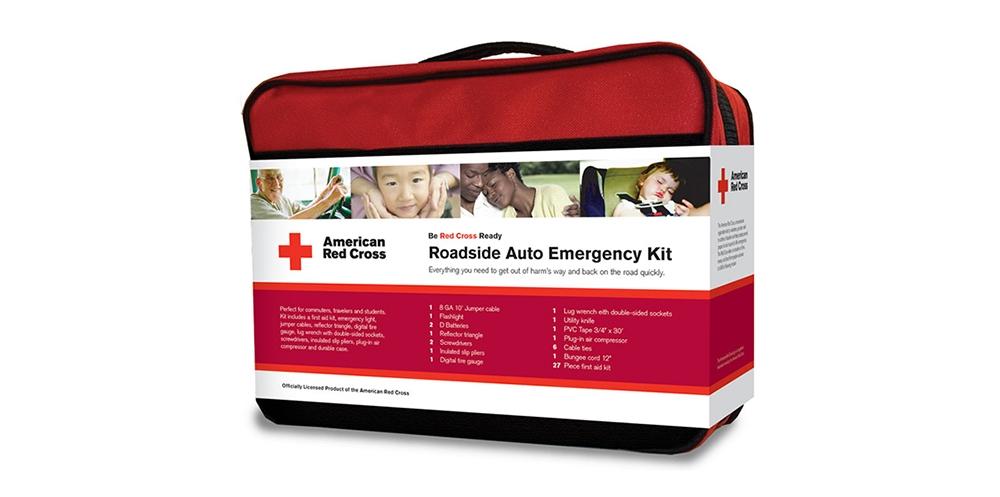 American Red Cross emergency roadside kit