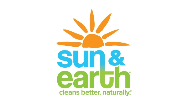 Sun & Earth | refreshed look communicates the brand's sunny disposition