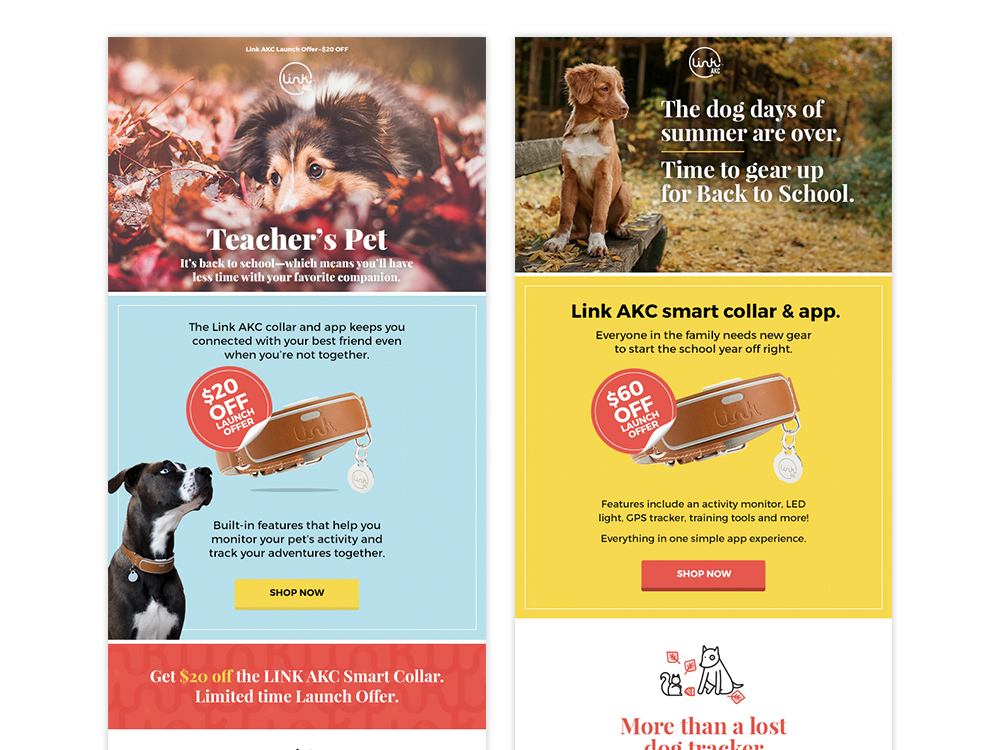 LINK AKC Promotional Email