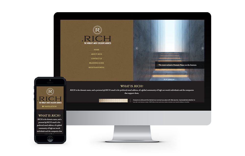 .RICH : Website design and development