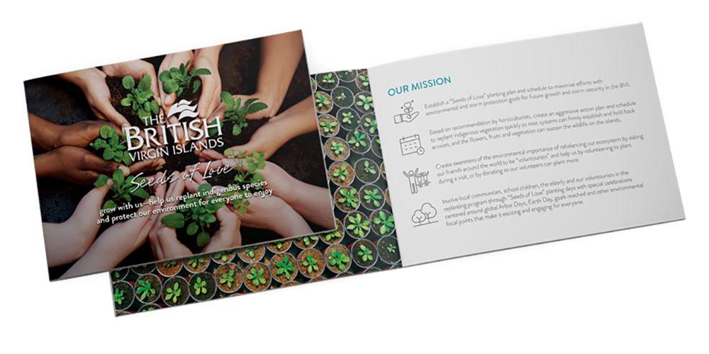 Seeds of Love printed brochure