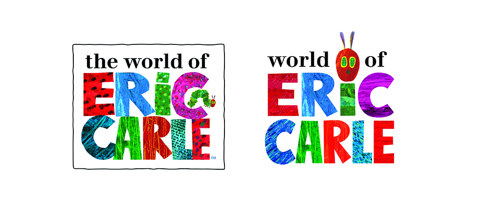 Eric Carle: Logo evolution based on research findings